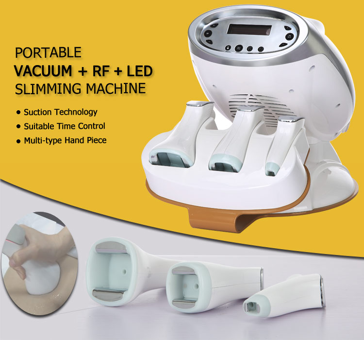Newest portable rf vacuum body slimming machine suppliers