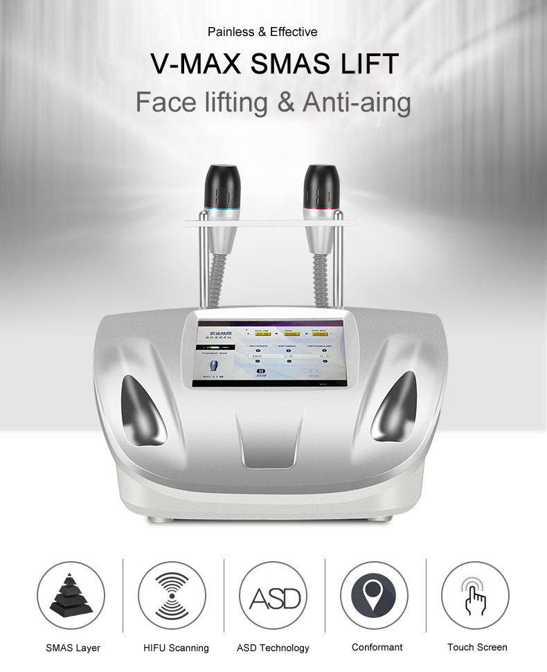 V-max hifu face lifting machine