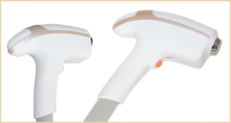 Handle of odi 808nm diode laser hair removal machine