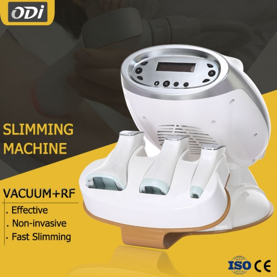 Vacuum rf face and body slimming machine