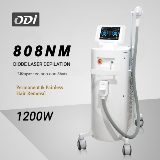 Best 1200w Professional 808nm Diode Laser Hair Removal Machine