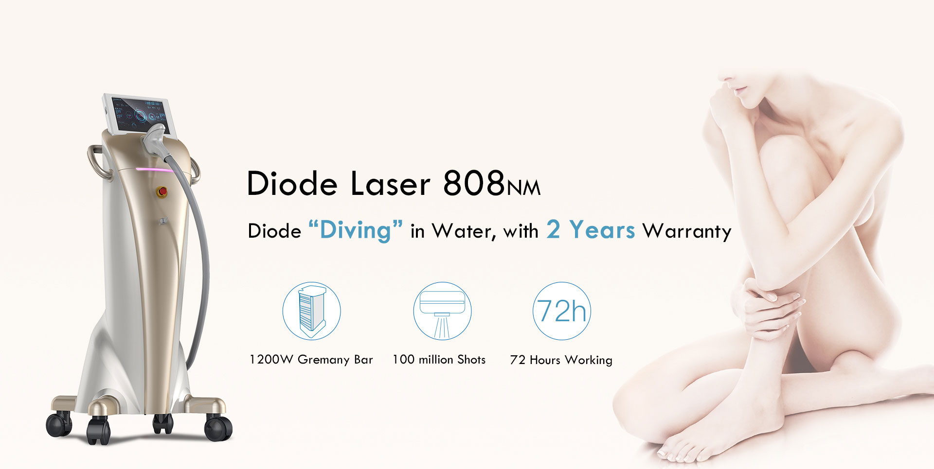 ODI Laser Beauty machine